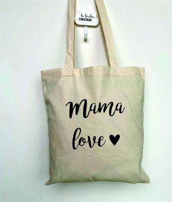 Image de Tote Bag mama love