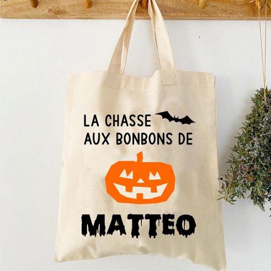 "Image de Sac Halloween ""Citrouille"""
